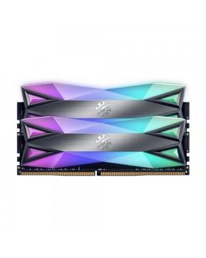 رم ای دیتا 16 گیگابایت دو کانال DDR4 CL16 باس 3000 مدل SPECTRIX D60G