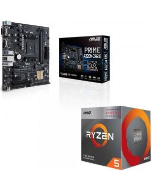 باندل مادربرد ایسوس PRIME A320M-C R2.0 + پردازنده ای ام دی RYZEN5 3400G