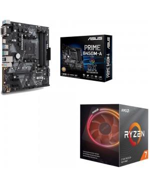 باندل مادربرد ایسوس PRIME B450M-A/CSM + پردازنده ای ام دی RYZEN7 3700X