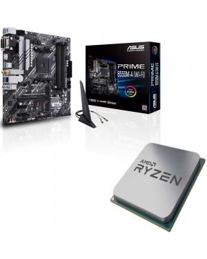 باندل مادربرد ایسوس PRIME B550M-A WI-FI + پردازنده ای ام دی RYZEN3 3200G