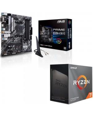 باندل مادربرد ایسوس PRIME B550M-A WI-FI + پردازنده ای ام دی RYZEN7 3800XT