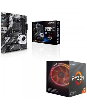 باندل مادربرد ایسوس PRIME X570-P + پردازنده ای ام دی RYZEN7 3700X