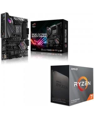 باندل مادربرد ایسوس ROG STRIX B450-F GAMING + پردازنده باکس ای ام دی RYZEN 7 3800XT