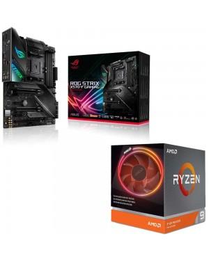 باندل مادربرد ایسوس ROG Strix X570-F Gaming + پردازنده ای ام دی RYZEN9 3900X