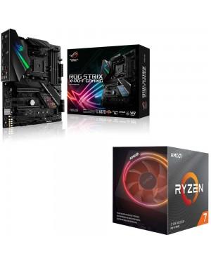 باندل مادربرد ایسوس ROG Strix X470-F Gaming + پردازنده ای ام دی RYZEN7 3700X