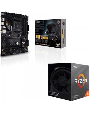باندل مادربرد ایسوس TUF GAMING B550-PLUS + پردازنده باکس ای ام دی RYZEN 5 3500X