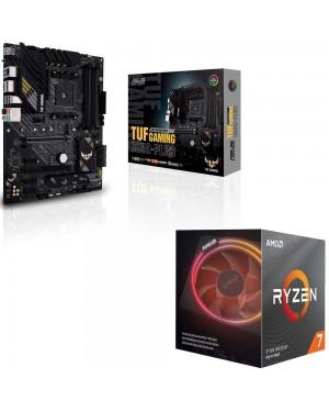 باندل مادربرد ایسوس TUF GAMING B550-PLUS + پردازنده ای ام دی RYZEN7 3700X