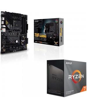 باندل مادربرد ایسوس TUF GAMING B550-PLUS + پردازنده ای ام دی RYZEN7 3800XT