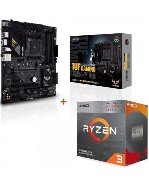 باندل مادربرد ایسوس TUF GAMING B550-PLUS + پردازنده ای ام دی RYZEN3 3100