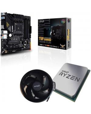 باندل مادربرد ایسوس TUF GAMING B550M-PLUS + پردازنده ای ام دی RYZEN7 3800X همراه فن اورجینال AMD