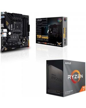 باندل مادربرد ایسوس TUF GAMING B550M-PLUS + پردازنده ای ام دی RYZEN7 3800XT