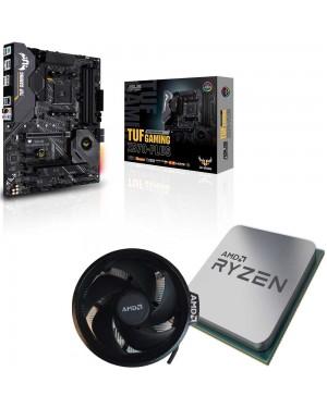 باندل مادربرد ایسوس TUF GAMING X570-PLUS + پردازنده RYZEN 7 3800X TRAY همراه فن اورجینال AMD
