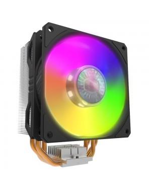 خنک کننده پردازنده دارای نور پردازی کولر مستر Hyper 212 Spectrum V2 گارانتی آواژنگ