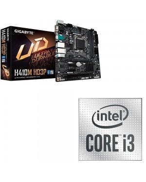 باندل مادربرد h410m HD3P همراه با پردازنده intel i3 10100