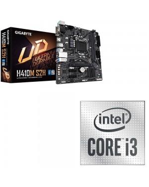 باندل مادربرد h410m s2h همراه با پردازنده intel i3 10100