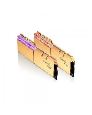 رم جی اسکیل 32 گیگابایت دو کاناله DDR4 CL16 باس 3200 مدل Trident Z Royal
