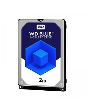 هارد اینترنال وسترن دیجیتال آبی 2 ترابایت WD20EZRZ
