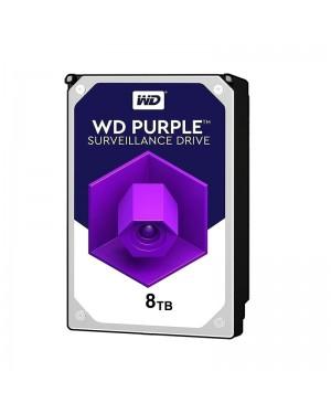 هارد اینترنال وسترن دیجیتال بنفش 8 ترابایت WD80PURZ