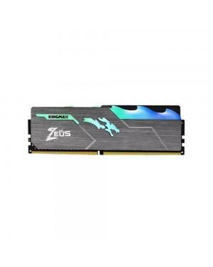رم گیمینگ کینگ مکس 8 گیگابایت DDR4 CL17 باس 3000 مدل Zeus Dragon RGB GAMING