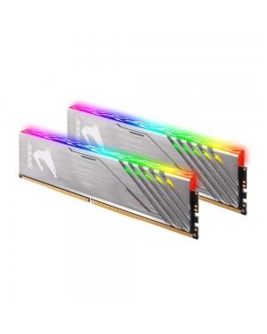 رم گیگابایت 16 گیگابایت دو کاناله DDR4 CL16 باس 3200 مدل AORUS RGB