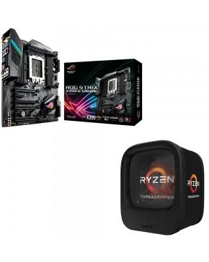 باندل مادربرد ایسوس ROG STRIX X399-E GAMING + پردازنده ای ام دی RYZEN Threadripper 1900X