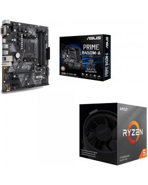 باندل مادربرد ایسوس PRIME B450M-A/CSM + پردازنده ای ام دی RYZEN5 3600XT