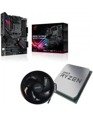 باندل مادربرد ایسوس ROG STRIX B550-F GAMING + پردازنده ای ام دی RYZEN7 3800X همراه فن اورجینال AMD