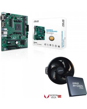 باندل مادربرد ایسوس PRIME A520M-C/CSM + پردازنده باکس ای ام دی RYZEN 3 4300GE