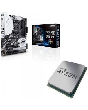 باندل مادربرد ایسوس PRIME X570-PRO + پردازنده ای ام دی RYZEN5 3600X Tray
