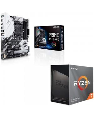باندل مادربرد ایسوس PRIME X570-PRO + پردازنده ای ام دی RYZEN7 3800XT
