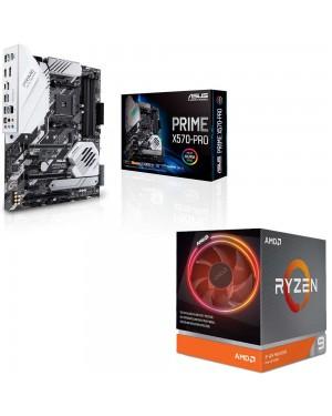 باندل مادربرد ایسوس PRIME X570-PRO + پردازنده ای ام دی RYZEN9 3900X