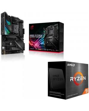 باندل مادربرد ایسوس ROG Strix X570-F Gaming + پردازنده ای ام دی RYZEN 9 5900X
