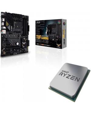 باندل مادربرد ایسوس TUF GAMING B550-PLUS + پردازنده ای ام دی RYZEN5 3600X Tray