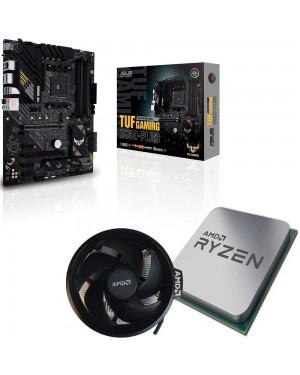 باندل مادربرد ایسوس TUF GAMING B550-PLUS + پردازنده ای ام دی RYZEN7 3800X همراه فن اورجینال AMD