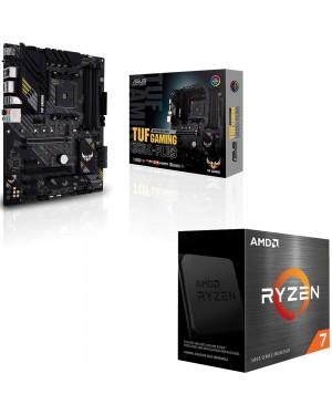 باندل مادربرد ایسوس TUF GAMING B550-PLUS + پردازنده باکس ای ام دی RYZEN 7 5800X