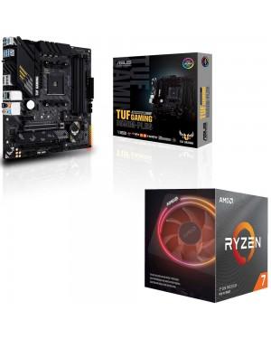 باندل مادربرد ایسوس TUF GAMING B550M-PLUS + پردازنده ای ام دی RYZEN7 3800X