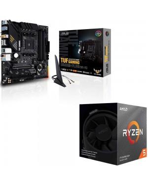 باندل مادربرد ایسوس TUF GAMING B550M-PLUS WI-FI + پردازنده باکس ای ام دی RYZEN 5 3600XT