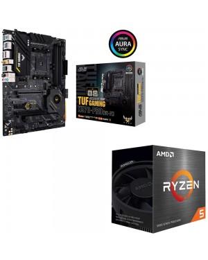 باندل مادربرد ایسوس TUF GAMING X570-PRO WI-FI + پردازنده باکس ای ام دی RYZEN 5 5600X