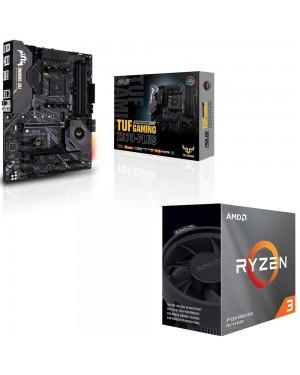باندل مادربرد ایسوس TUF GAMING X570-PLUS + پردازنده ای ام دی RYZEN3 3100