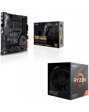 باندل مادربرد ایسوس TUF GAMING X570-PLUS + پردازنده ای ام دی RYZEN5 3600XT