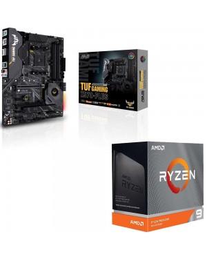 باندل مادربرد ایسوس TUF GAMING X570-PLUS + پردازنده ای ام دی RYZEN9 3900XT