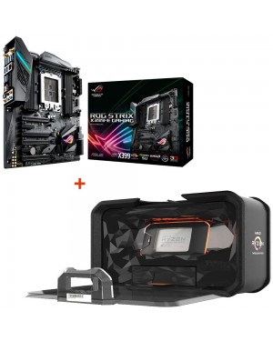 باندل مادربرد ایسوس ROG STRIX X399-E GAMING + پردازنده ای ام دی RYZEN Threadripper 2970WX