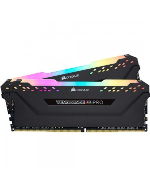 رم کورسیر 64 گیگابایت دو کانال DDR4 CL16 باس 3200 مدل Vengeance PRO RGB
