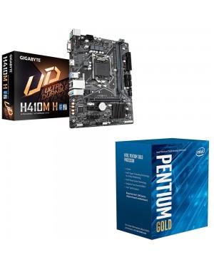 باندل ویژه GIGABYTE H410M-H + CPU INTEL G6405