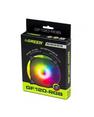 فن کیس گرین مدل GF120-RGB
