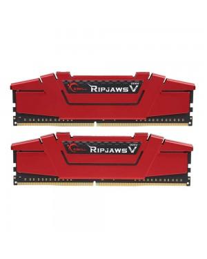 رم جی اسکیل 16 گیگابایت دو کاناله DDR4 CL17 باس 2400 مدل Ripjaws V