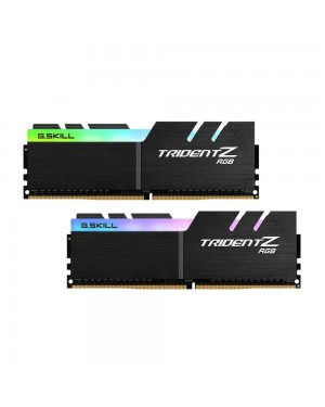 رم جی اسکیل 32 گیگابایت دو کاناله DDR4 CL15 باس 3200 مدل Trident Z RGB