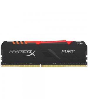 رم کینگستون 16 گیگابایت تک کانال DDR4 CL17 باس 3200 مدل HyperX FURY RGB