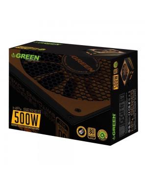 پاور گرین 500 وات نیمه ماژولار مدل GP500B-HP Plus