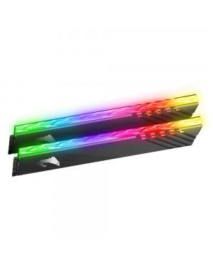 رم گیگابایت 16 گیگابایت دو کاناله DDR4 CL16 باس 3600 مدل AORUS RGB